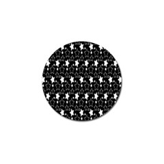 White Star Golf Ball Marker by Jojostore