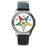 PHA Eastern Star Round Metal Watch