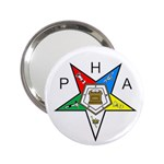 PHA Eastern Star 2.25  Handbag Mirror
