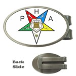 PHA Eastern Star Money Clip (Oval)