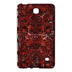 Damask2 Black Marble & Red Marble (r) Samsung Galaxy Tab 4 (7 ) Hardshell Case  by trendistuff