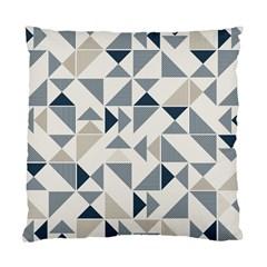 Geometric Triangle Modern Mosaic Standard Cushion Case (one Side) by Amaryn4rt
