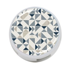 Geometric Triangle Modern Mosaic 4 Port Usb Hub (two Sides)  by Amaryn4rt