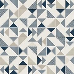 Geometric Triangle Modern Mosaic Magic Photo Cubes by Amaryn4rt