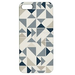 Geometric Triangle Modern Mosaic Apple Iphone 5 Hardshell Case With Stand by Amaryn4rt