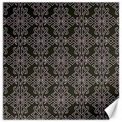 Line Geometry Pattern Geometric Canvas 16  X 16   by Amaryn4rt