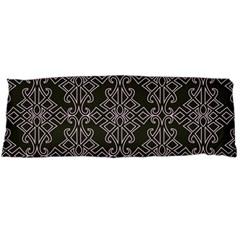 Line Geometry Pattern Geometric Body Pillow Case (dakimakura) by Amaryn4rt