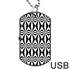 Background Dog Tag Usb Flash (two Sides)  by Jojostore
