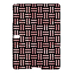 Woven1 Black Marble & Red & White Marble Samsung Galaxy Tab S (10 5 ) Hardshell Case  by trendistuff