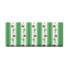 Flower Background Green Cosmetic Storage Cases by Jojostore