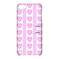 Heart Pink Valentine Day Apple Ipod Touch 5 Hardshell Case With Stand by Jojostore