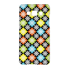 Diamond Argyle Pattern Flower Samsung Galaxy A5 Hardshell Case  by Jojostore