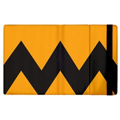 Minimal Modern Simple Orange Apple Ipad 3/4 Flip Case by Jojostore