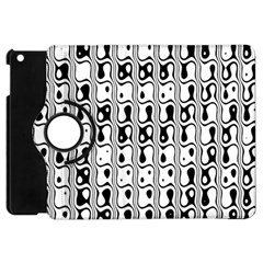 Line Black Apple Ipad Mini Flip 360 Case by Jojostore
