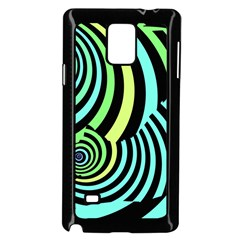 Optical Illusions Checkered Basic Optical Bending Pictures Cat Samsung Galaxy Note 4 Case (black) by Jojostore