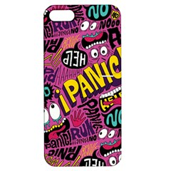 Panic Pattern Apple Iphone 5 Hardshell Case With Stand by Jojostore