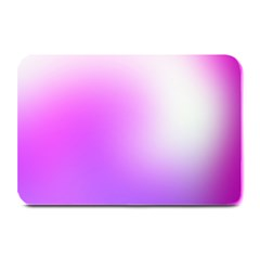 Purple White Background Bright Spots Plate Mats by Jojostore