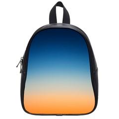 Rainbow Blue Orange Purple School Bags (small)  by Jojostore