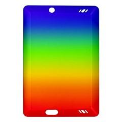 Rainbow Blue Green Pink Orange Amazon Kindle Fire Hd (2013) Hardshell Case by Jojostore