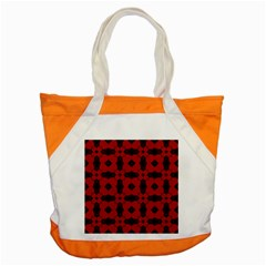 Redtree Flower Red Accent Tote Bag by Jojostore