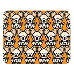 Sitchihuahua Cute Face Dog Chihuahua Double Sided Flano Blanket (large)  by Jojostore