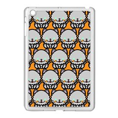 Sitpersian Cat Orange Apple Ipad Mini Case (white) by Jojostore