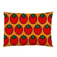 Strawberry Orange Pillow Case (two Sides) by Jojostore