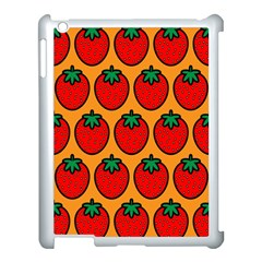 Strawberry Orange Apple Ipad 3/4 Case (white) by Jojostore