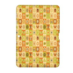 Texture Background Stripes Color Animals Samsung Galaxy Tab 2 (10 1 ) P5100 Hardshell Case  by Jojostore