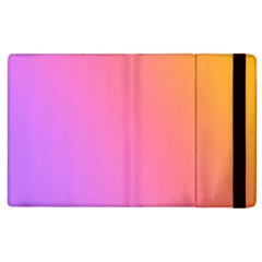 Blank Desk Pink Yellow Purple Apple Ipad 3/4 Flip Case by Jojostore