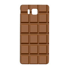 Chocolate Samsung Galaxy Alpha Hardshell Back Case by Jojostore