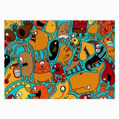 Creature Cluster Large Glasses Cloth (2 Side) by Jojostore