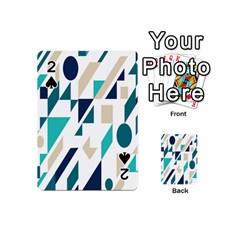 Geometric Playing Cards 54 (mini)  by Jojostore