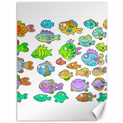 Fishes Col Fishing Fish Canvas 36  X 48   by Jojostore