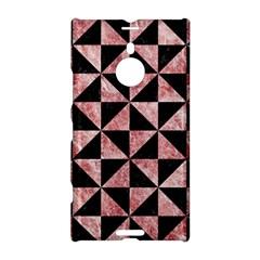 Triangle1 Black Marble & Red & White Marble Nokia Lumia 1520 Hardshell Case by trendistuff