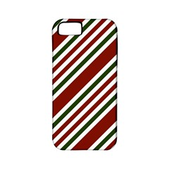 Line Christmas Stripes Apple Iphone 5 Classic Hardshell Case (pc+silicone) by Jojostore