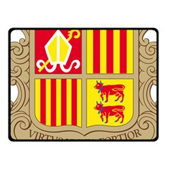 Coat Of Arms Of Andorra Fleece Blanket (small) by abbeyz71