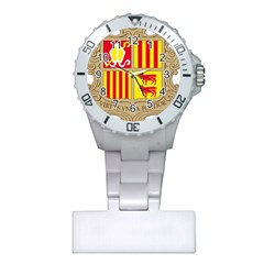 Coat Of Arms Of Andorra Plastic Nurses Watch by abbeyz71