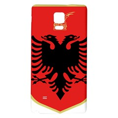 Coat Of Arms Of Albania Galaxy Note 4 Back Case by abbeyz71