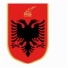Coat Of Arms Of Albania Large Garden Flag (Two Sides) by abbeyz71