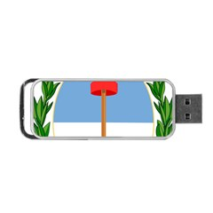 Coat Of Arms Of Argentina Portable Usb Flash (one Side) by abbeyz71