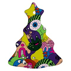 Another Weird Pattern Ornament (christmas Tree) by Jojostore