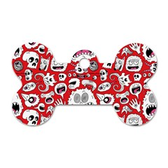 Another Monster Pattern Dog Tag Bone (two Sides) by Jojostore