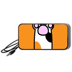 Cathand Orange Portable Speaker (Black)  by Jojostore