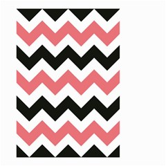 Chevron Crazy On Pinterest Blue Color Small Garden Flag (two Sides) by Jojostore