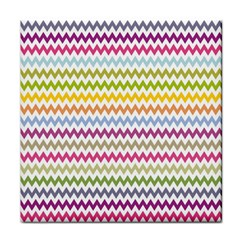 Color Full Chevron Tile Coasters