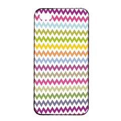 Color Full Chevron Apple Iphone 4/4s Seamless Case (black) by Jojostore