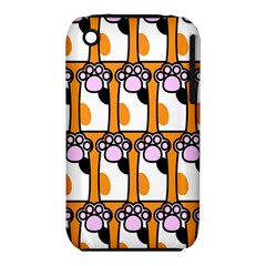 Cute Cat Hand Orange Iphone 3s/3gs by Jojostore