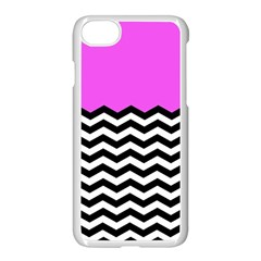 Colorblock Chevron Pattern Jpeg Apple Iphone 7 Seamless Case (white) by Jojostore