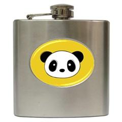 Face Panda Cute Hip Flask (6 Oz) by Jojostore